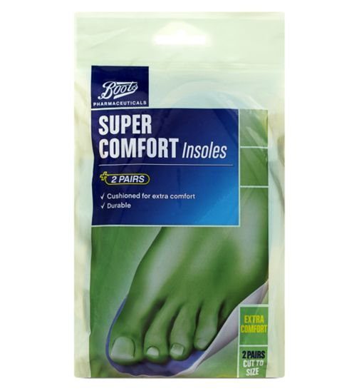 Boots Super Comfort Insoles (2 Pairs)