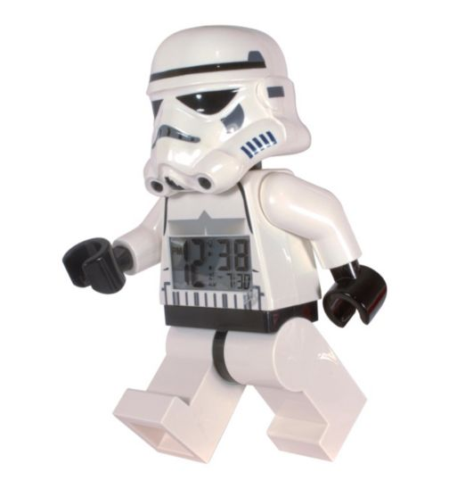LEGO Star Wars Stormtrooper alarm clock