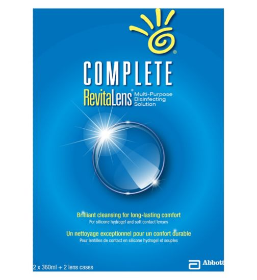 Complete RevitaLens Multi-Purpose Disinfecting Solution - 2 x 360ml