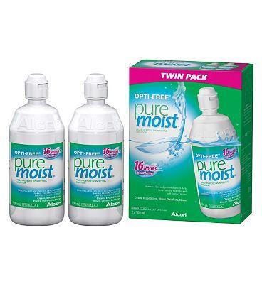 Opti-Free PureMoist Multi-Purpose Disinfecting Solution - 2 x 300ml