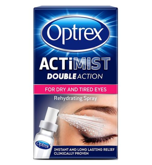 Optrex ActiMist 2in1 Eye Spray for Tired + Uncomfortable Eyes - 10ml