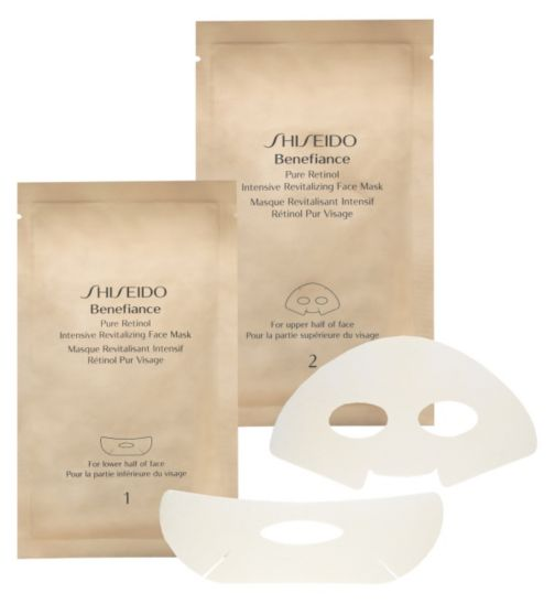 Shiseido Benefiance Pure Retinol Intensive Revitalizing Face Mask x4