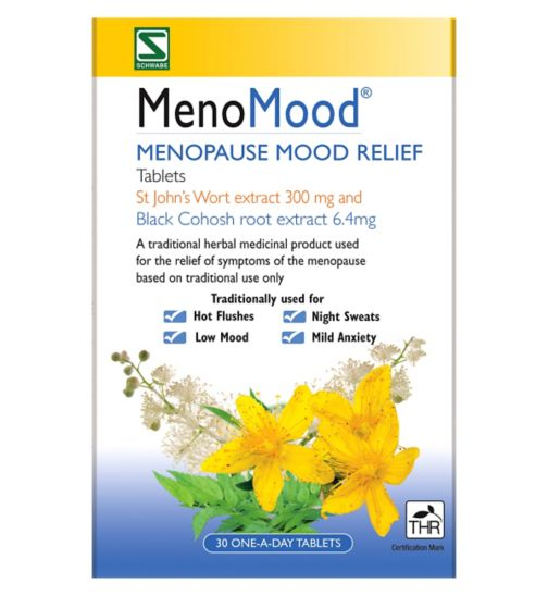 MenoMood - 30 One-a-Day Tablets