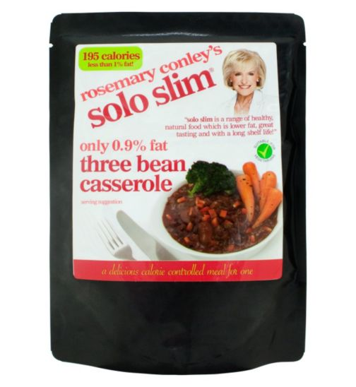 Rosemary Conley Solo Slim Three Bean Casserole 300g