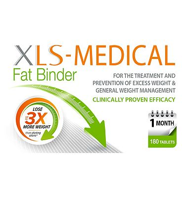 XLS-Medical Fat Binder 180 tablets - 1 months supply