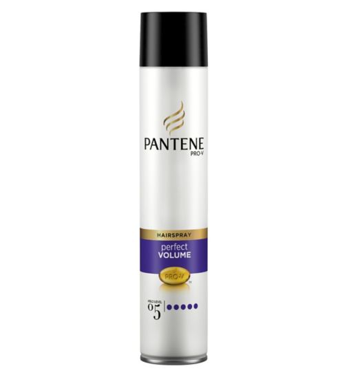 Pantene Pro-V Perfect Volume lightweight Hairspray 300ml - Hold Level 5