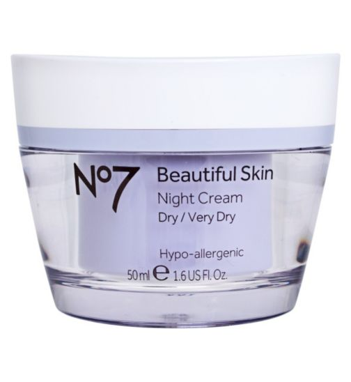 No7 Beautiful Skin Night Cream for Dry / Very Dry 50ml