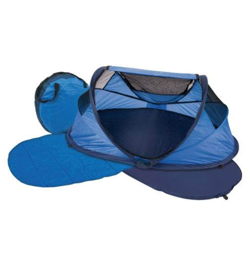 NSA Standard Travel Cot - Blue