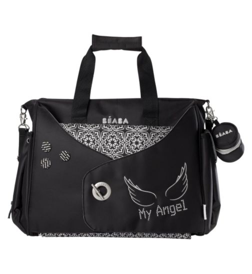Beaba Baby Los Angeles My Angel Baby Changing Bag - Black