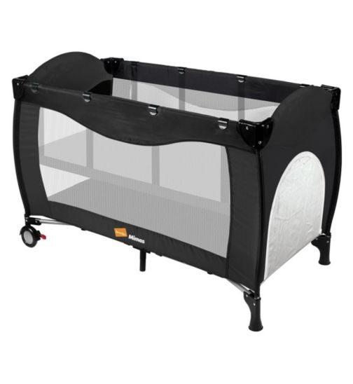 Babyway Koochiku Mimas Luxury Baby Travel Cot - Black