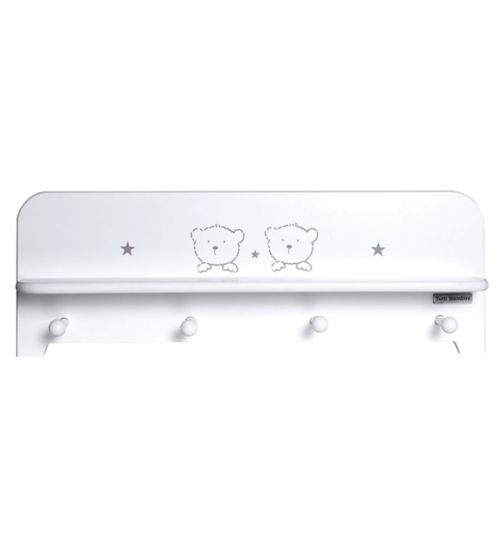 Tutti Bambini 3 Bears Shelf - White Finish