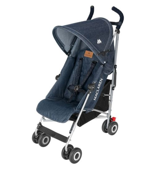 Maclaren Quest Pushchair - Denim Indigo