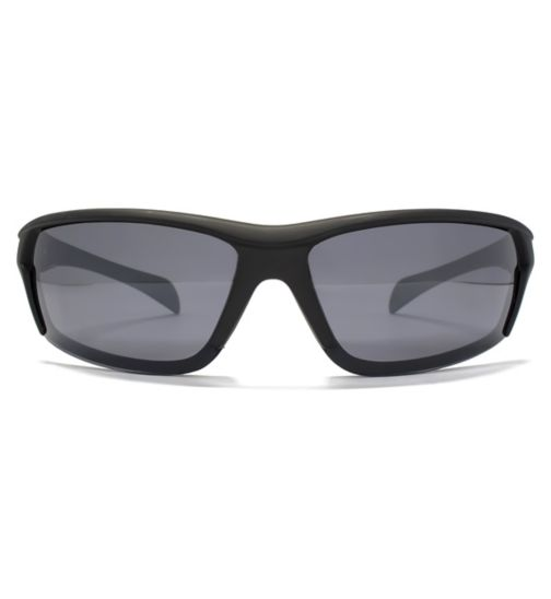 Freedom Mens Sunglasses Overlaid Sports Wrap 26FRG145380