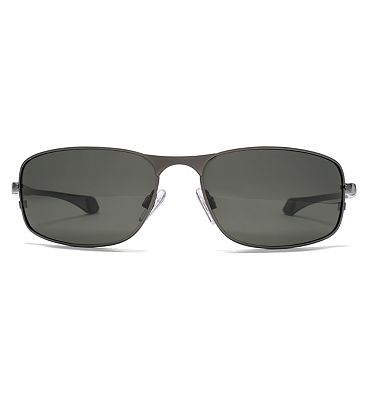 Freedom Sports Dark Gunmetal Sunglasses with Flex Hinges