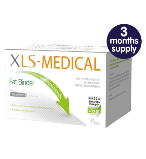 XLS-Medical Fat Binder (3 months supply)