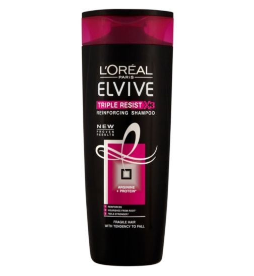 L'Oréal Elvive Triple Resist Shampoo 400ml