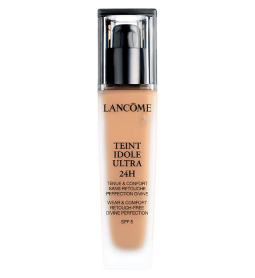 Lancome Teint Idole Ultra 24Hr Foundation 30ml Wear & Comfort. Re-Touch Free. Divine Perfection SPF15