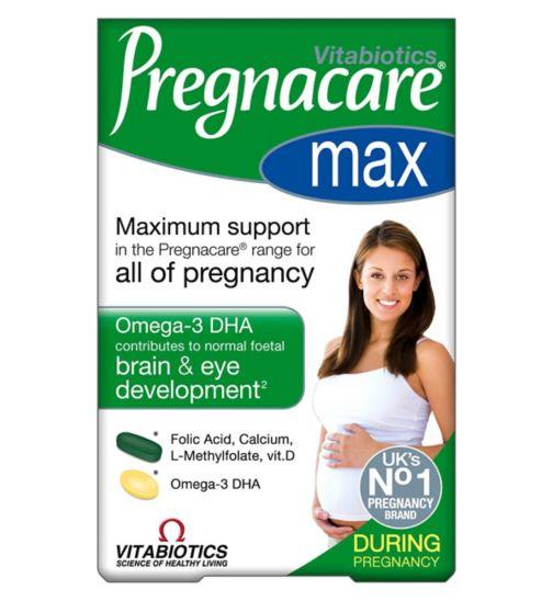 Vitabiotics Pregnacare Max - 84 Tablets/Capsules