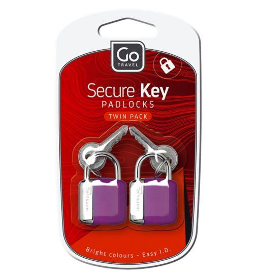 GoTravel Glo Key Locks