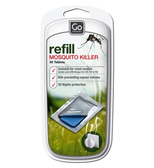 Go Travel Mosquito Defence Refill 30 Tablets 320