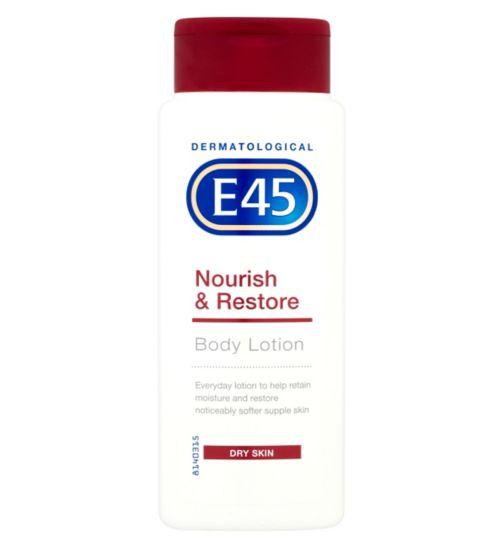 E45 Body Lotion Nourish & Restore for Dry Skin - 250ml