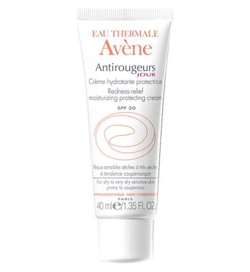 Avene Antirougeurs Jour Redness-Relief Moisturising Protecting Cream SPF20 - 40ml