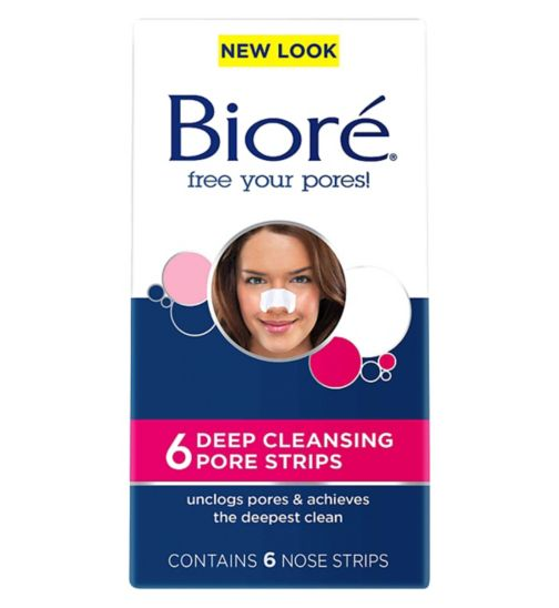 Bioré® Original Deep Cleansing Pore Strips 6s