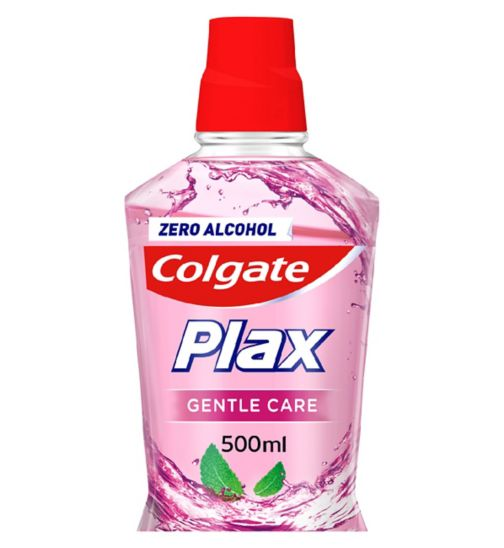 Colgate Plax Gentle Care Sensitive Mouthwash 500ml
