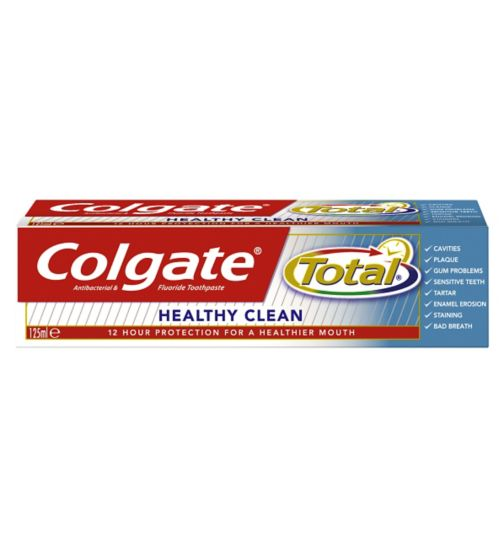 Colgate Total Clean Toothpaste 125ml