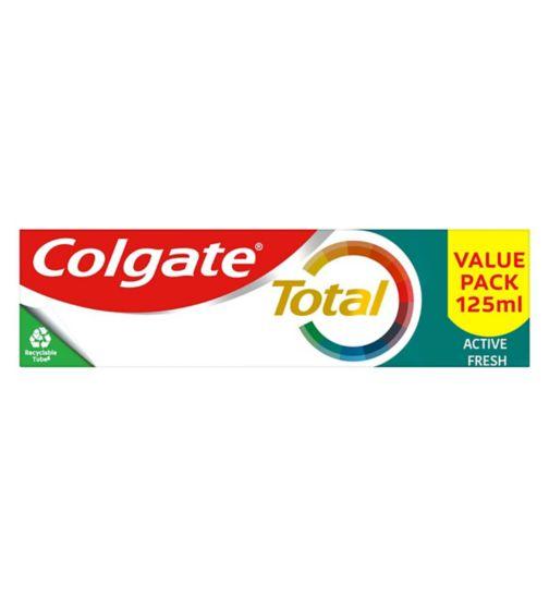 Colgate Total Freshening Toothpaste 125ml