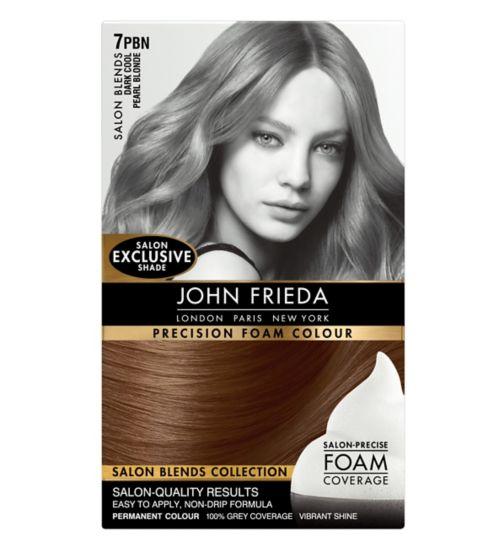John Frieda Precision Foam Colour Salon Blends Dark Cool Pearl Blonde 7PBN