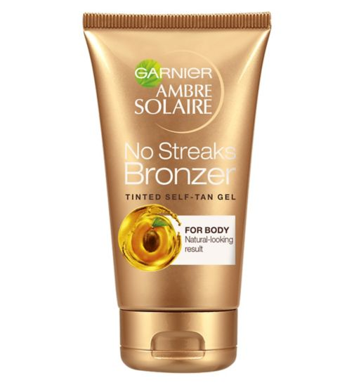 Ambre Solaire No Streaks Bronzer Self Tan Tinted Gel 150ml