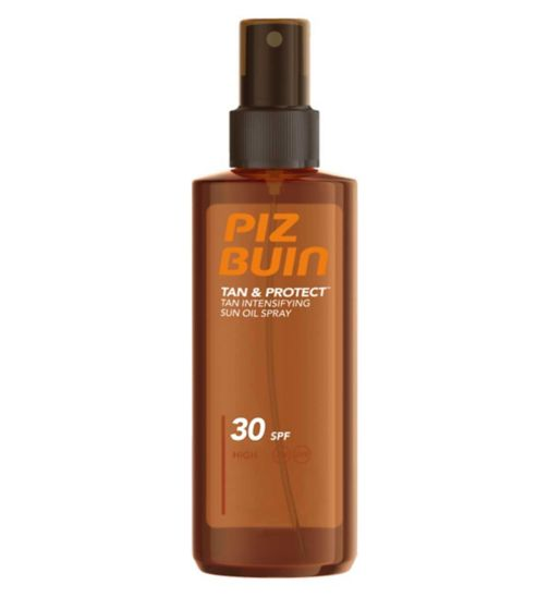 Piz Buin Tan & Protect Tan Accelerating Oil Spray SPF30 High 150ml