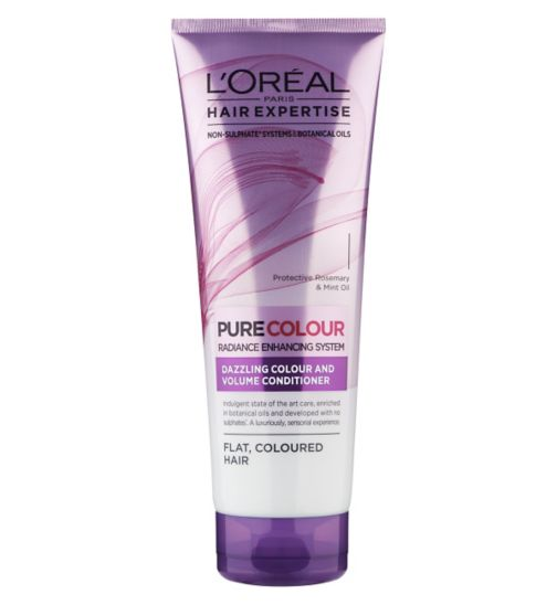 L'Oreal Paris Hair Expertise SuperPure Colour and Volume Conditioner 250ml