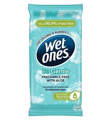 Wet Ones Be Gentle Original Family 40pk