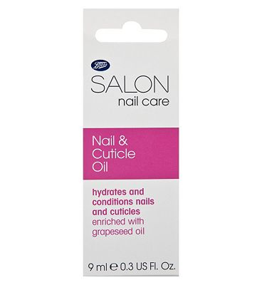 Boots Salon Nail and Cuticle Oil