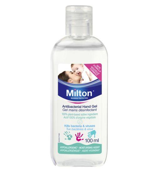 Milton Antibacterial Hand Gel - 100ml