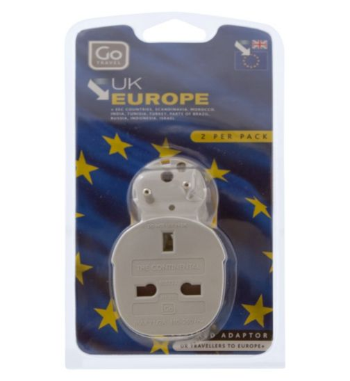Go Travel Adaptor UK-Europe