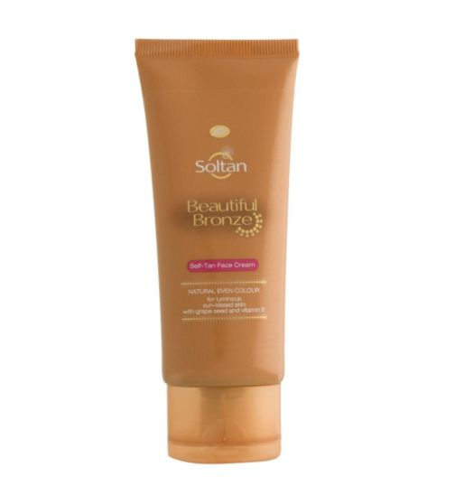 Soltan Beautiful Bronze Self-Tan Face Cream 50ml