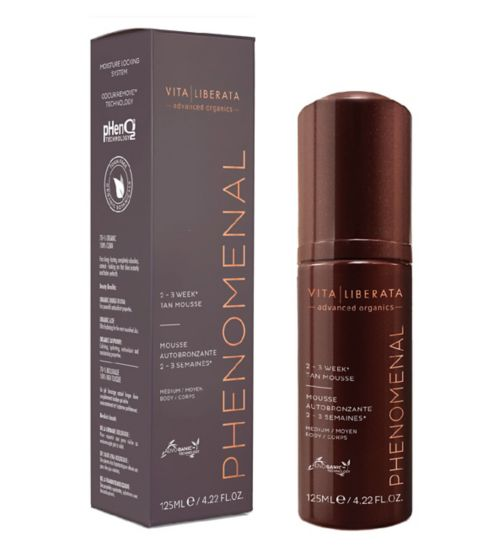 Vita Liberata pHenomenal 2-3 Week Self Tan Mousse Medium 125ml