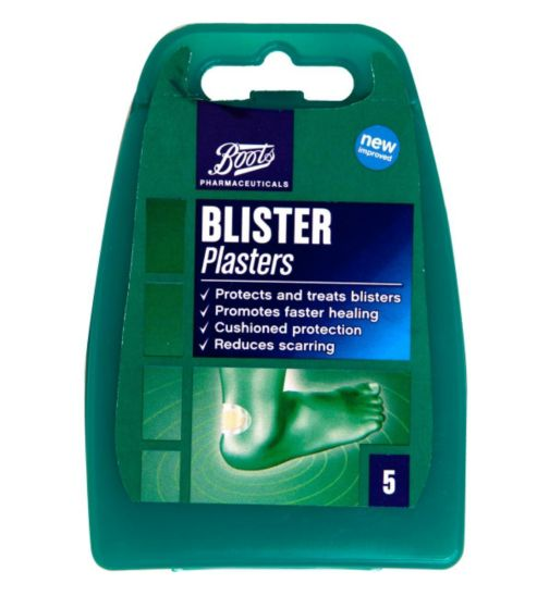 Boots pharmaceuticals Blister Plasters - 5 plasters