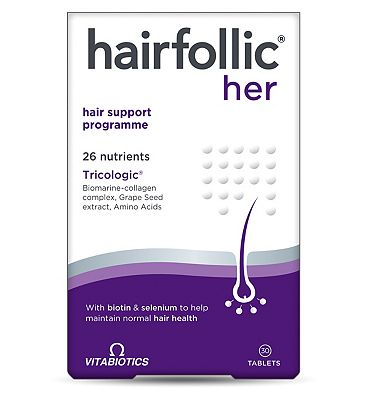 Vitabiotics Hairfollic Woman - 30 tablets