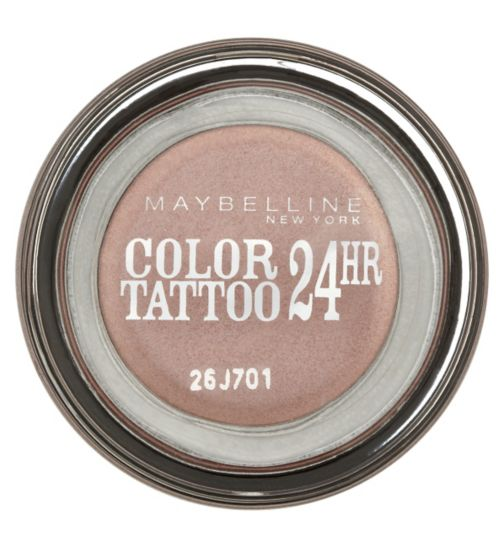 Maybelline EyeStudio Color Tattoo 24hr Cream Gel Eyeshadow