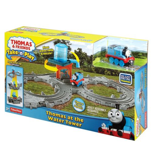Thomas & Friends Take-n-Play Thomas at the Water Tower Playset