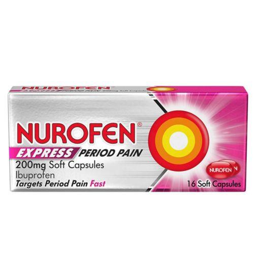 Nurofen Express period pain 16s