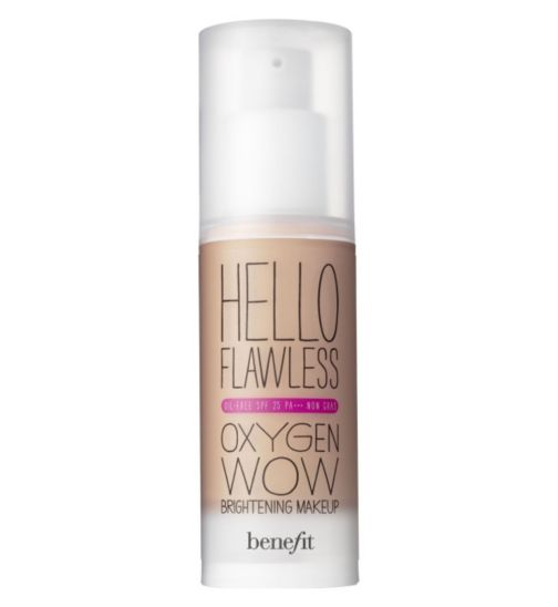 Benefit Hello Flawless liquid foundation SPF 25 30ml