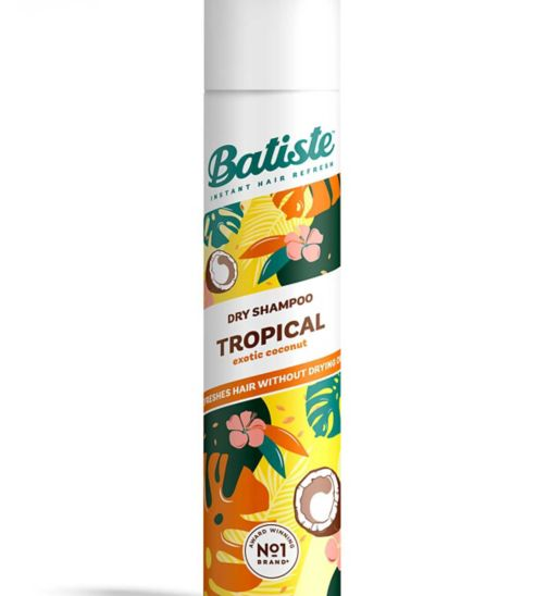 Batiste Dry Shampoo Tropical - Coconut & Exotic 200ml