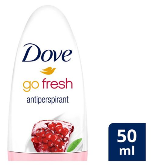 Dove Anti-perspirant Deodorant Roll On Go Fresh Pomegranate 50ml