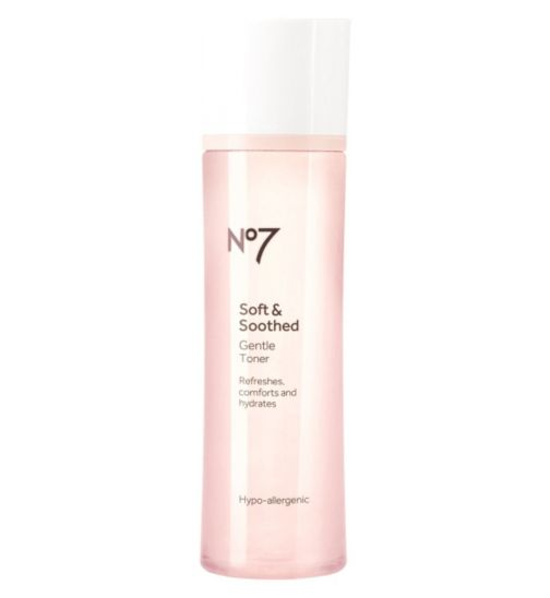 No7 Soft & Soothed Gentle Toner 200ml