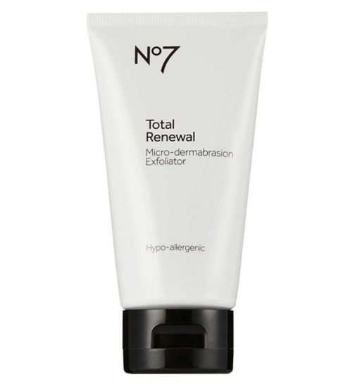 No7 Total Renewal Micro-dermabrasion Face Exfoliator 75ml